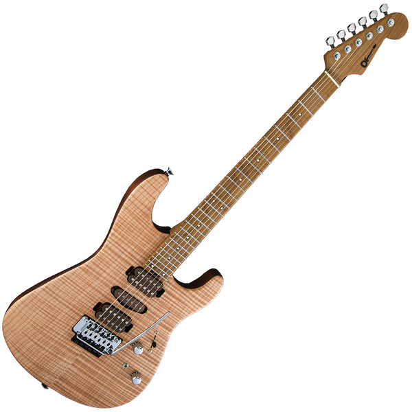 Charvel Guthrie Govan USA HSH Flame Maple Electric Guitar in Natural - 2865434701