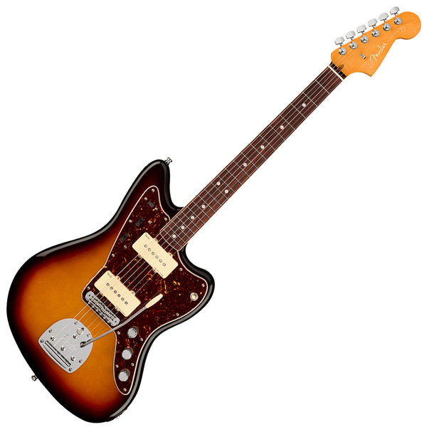 Fender American Ultra Jazzmaster Electric Guitar Rosewood in Ultraburst with Case - 118050712