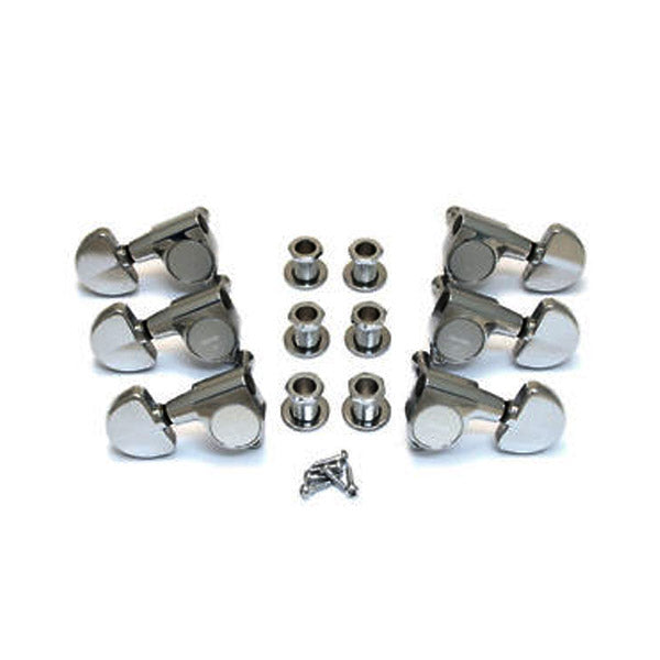 Gotoh TK7740010 3+3 Chrome Keys