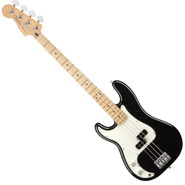 Fender 0149822506 Left Handed Player Precision Bass Guitar Maple Neck in Black