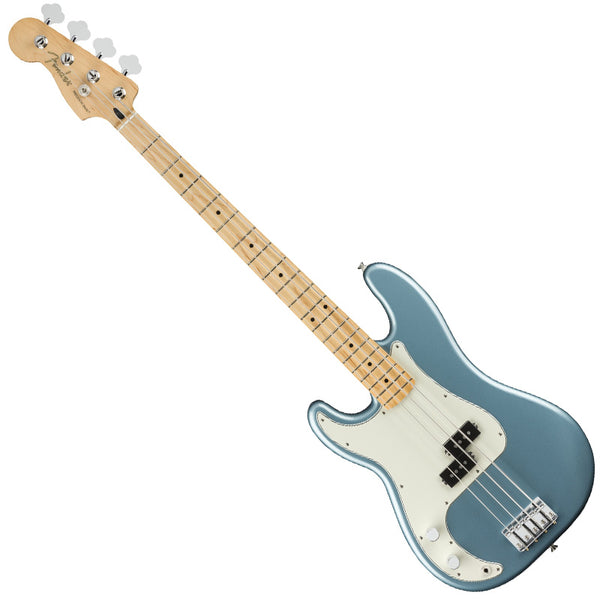 Fender 0149822513 Left Handed Player Precision Bass Guitar Maple Neck in Tidepool