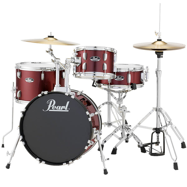 Pearl 4 Piece Roadshow Drum Kit in Red Wine - RS584CC91
