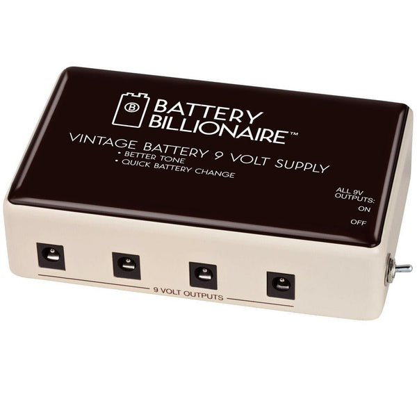 Danelectro DBAT1 Billionaire Battery Power Supply Effects Pedal