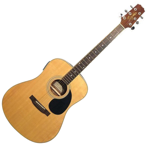 Segovia D07EQTGN Dreadnought Acoustic Electric in Natural