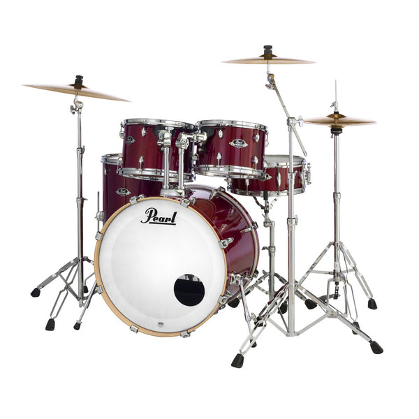 Pearl EXL725C246 Export Lacquer 5 Piece Kit in Natural Cherry