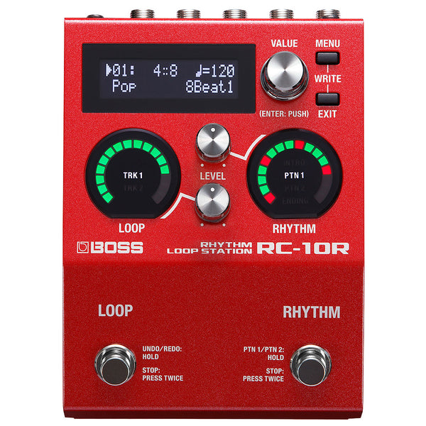 Boss RC10R Rhythm Loop Station Looper Effects Pedal