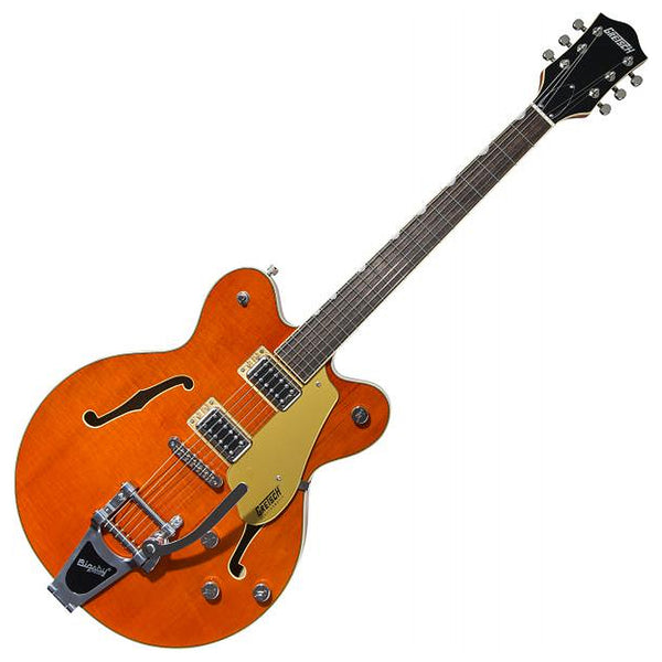 Gretsch G5622T Electromatic Center Block Bigsby Electric Guitar in Orange Stain - 2508200512