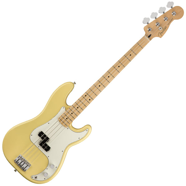 Fender Player Precision Bass Guitar Maple Neck in Buttercream - 149802534