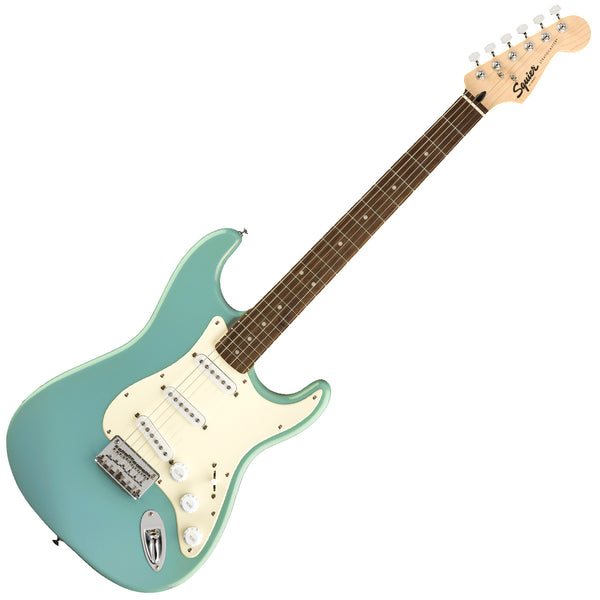 Squier Bullet Stratocaster HT Electric Guitar Laurel in Tropical Turquoise - 0371001597