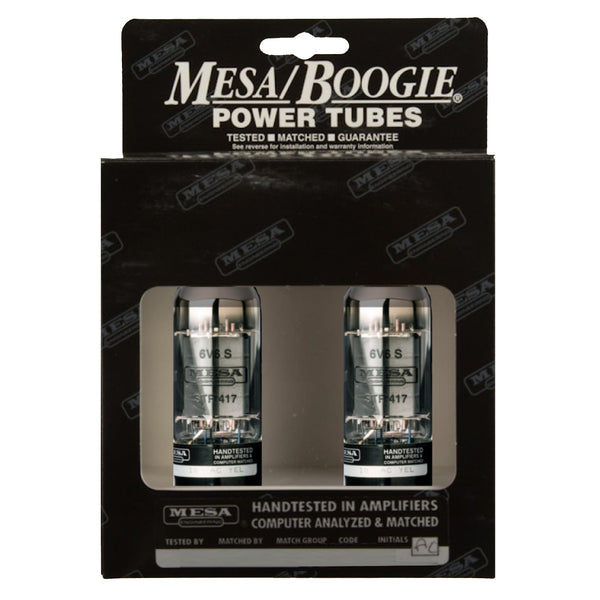 Mesa Boogie 6V6S GTA STR 417 Duet Power Tubes - 750620D