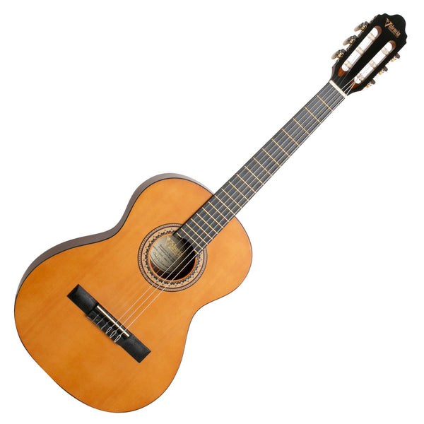 Valencia 1/2 Size Nylon String Classical Guitar in Aged Natural - VC202AN