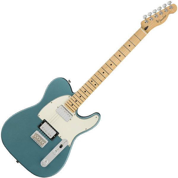 Fender 0145232513 Player Telecaster Electric Guitar HH Maple Neck in Tidepool
