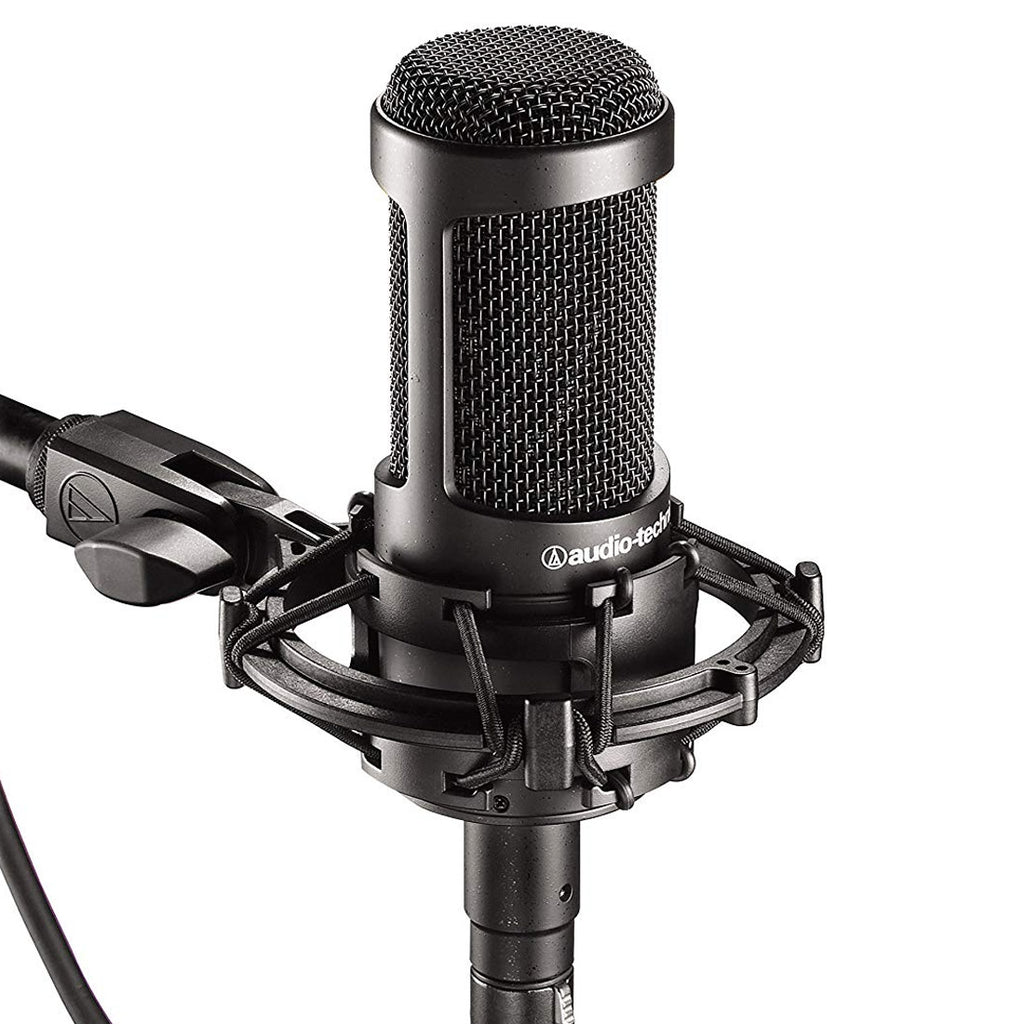 Audio-Technica AT2035 Side-Address Studio Condenser Microphone w/ Roll-off pad