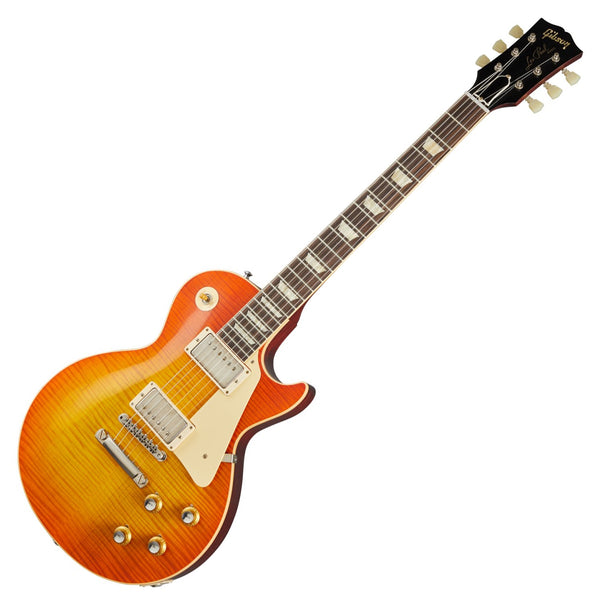 Gibson 60th Anniversary VOS Les Paul Electric Guitar '60 Reissue in Orange Lemon Fade with Case