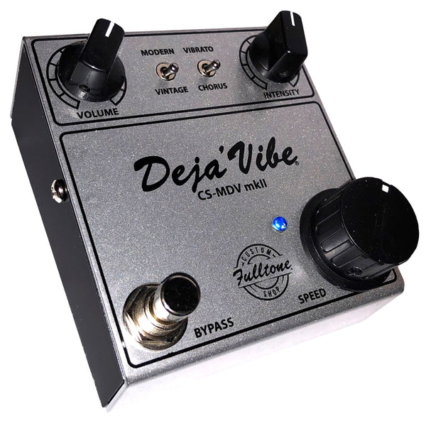 Fulltone CSMDVMKII Custom Shop Mini Deja Vibe Mk II Vibrato Effects Pedal