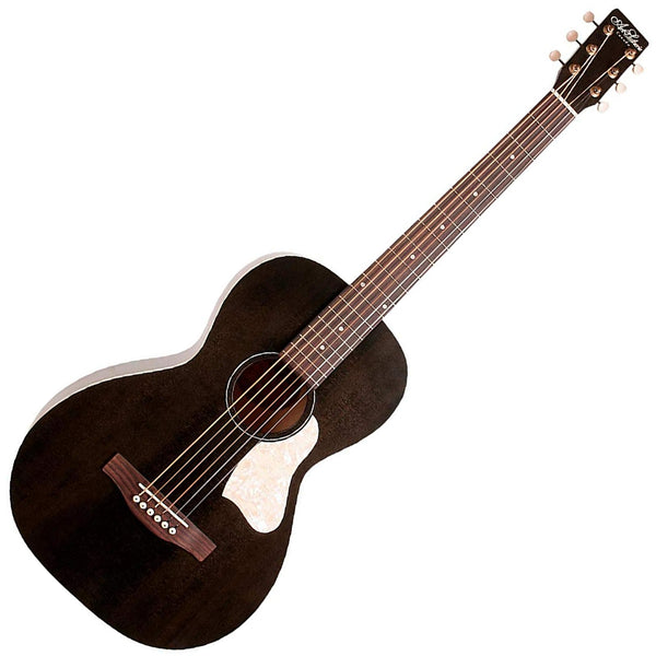 Art & Lutherie 042418 Roadhouse Acoustic Electric in Faded Black w/Bag