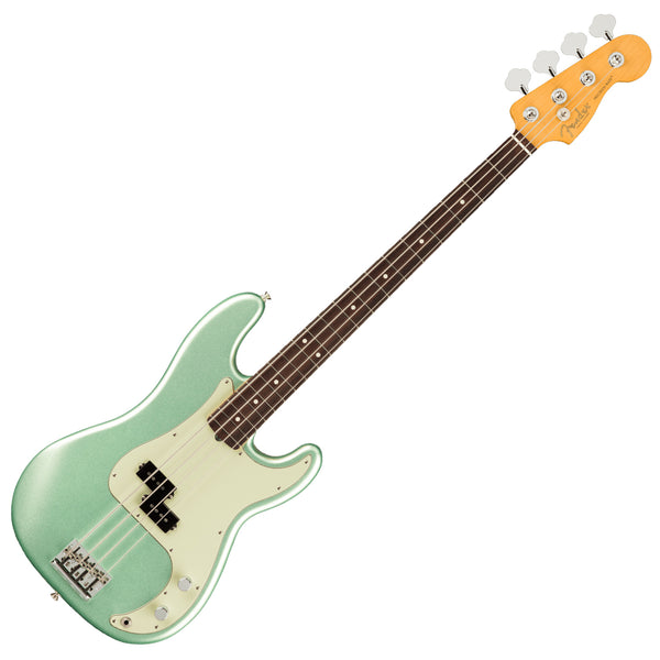 Fender American Professional II P Bass Bass Guitar Rosewood Mystic Surf Green w/Case - 0193930718