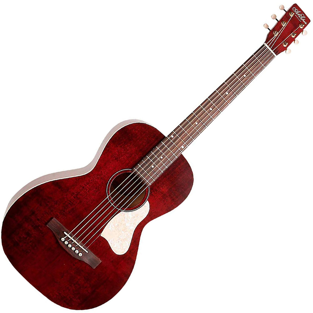 Art & Lutherie 042401 Roadhouse Acoustic Electric in Tennessee Red w/Bag