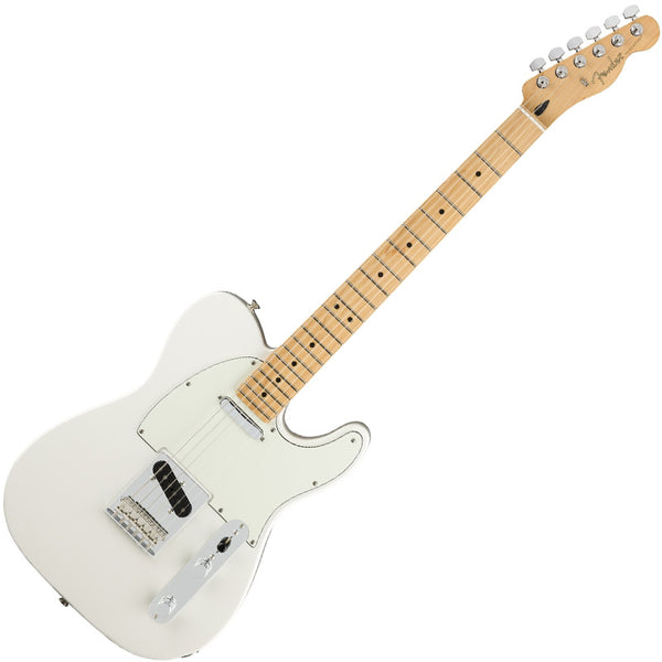Fender Player Telecaster Electric Guitar Maple Neck in Polar White - 145212515