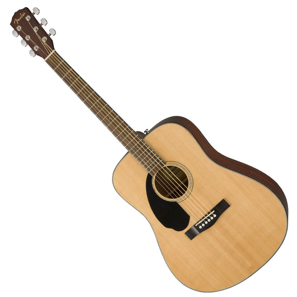 Fender 0970115021 CD-60SLH Left Handed Acoustic Solid Spruce Top in Natural