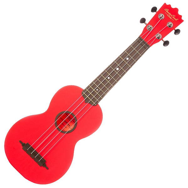 Beaver Creek BCABSRED Soprano Ukulele Ulina Red