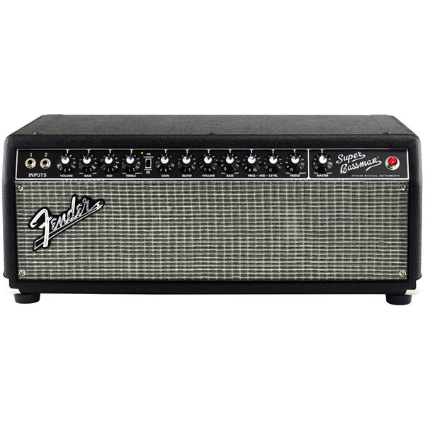 Fender 2249000000 Super Bassman Tube Guitar Amplifier Head in Black