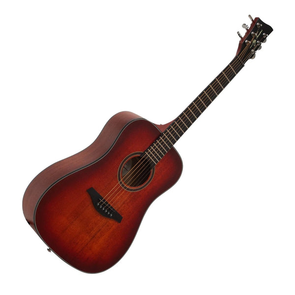 Jay Turser JTA53SRD 3/4 Steel String Acoustic Guitar in Satin Red
