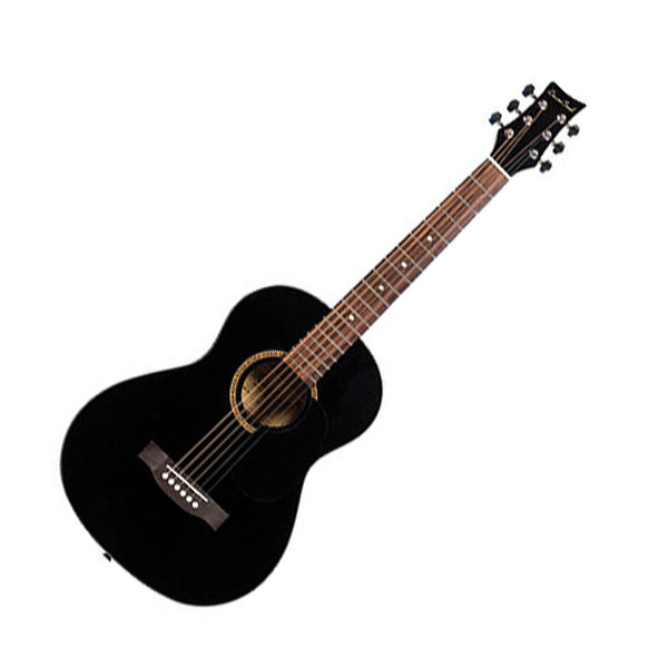 Beaver Creek BCTD601BK 3/4 Size Acoustic Guitar in Black