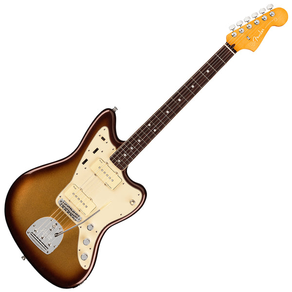 Fender American Ultra Jazzmaster Electric Guitar Rosewood in Mocha Burst with Case - 118050732