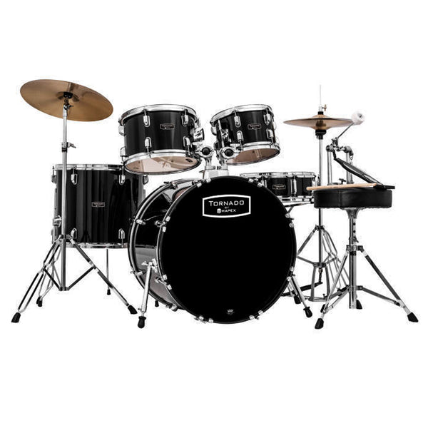 Mapex TND5294TCDK Tornado 5 Piece Rock Kit in Black