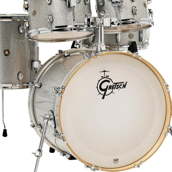 Gretsch CM1E825SS Catalina Maple 5 Piece Shell Pack in Silver Sparkle