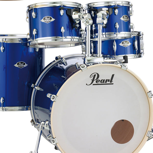 Pearl Export 5 Piece Shell Pack in High Volt Blue - EXX725SPC717