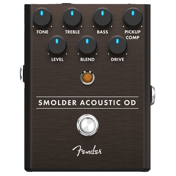 Fender 234550000 Smolder Acoustic Overdrive Effects Pedal