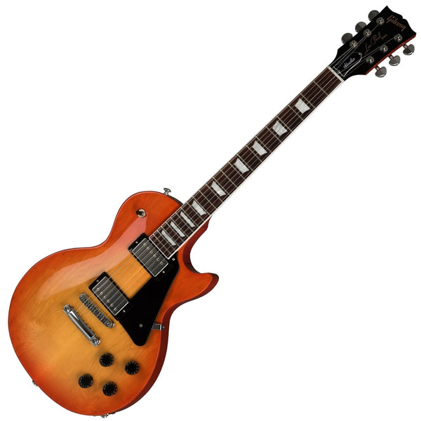 Gibson Les Paul Studio Electric Guitar in Tangerine Burst with Soft Case - LPST00TNCH