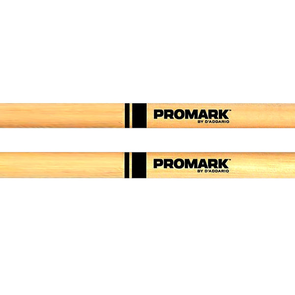 Promark TX5AW 5A American Hickory Wood Tip Drumsticks - (Single Pair)