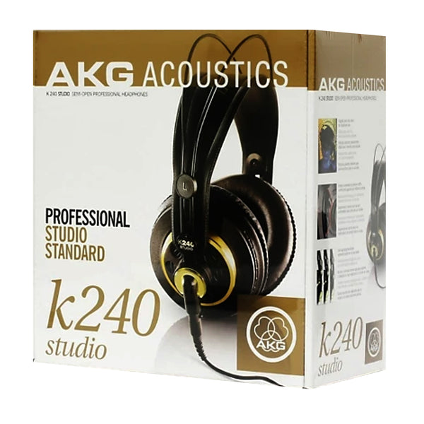 AKG Pro Audio Semi-Open Studio Headphones - K240STUDIO