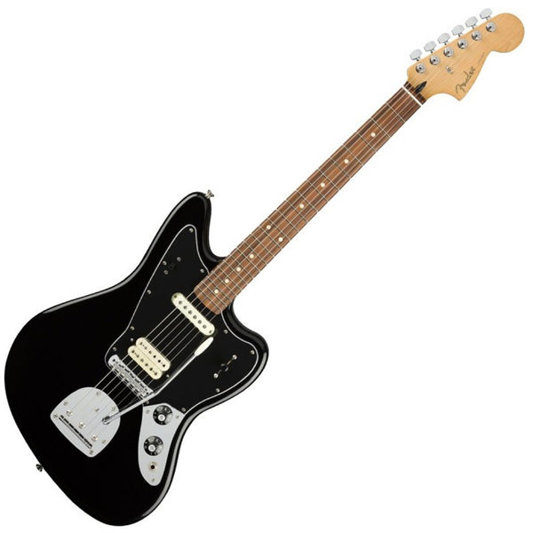 Fender 0146303506 Player Jaguar Electric Guitar Pau Ferro in Black