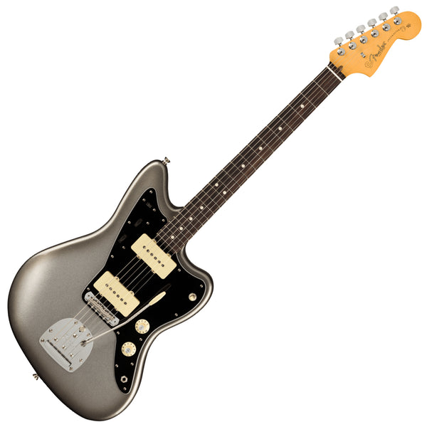 Fender American Professional II Jazzmaster Electric Guitar Rosewood Mercury w/Case- 0113970755