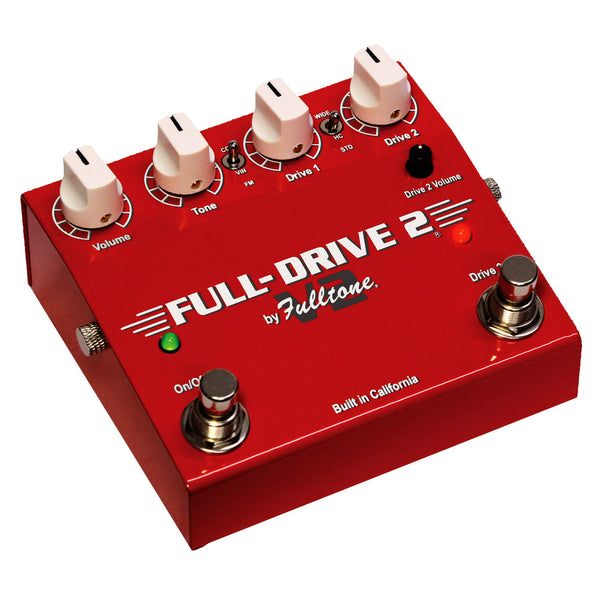 Fulltone FD2V2 FullDrive 2 v2 Overdrive Distortion Effects Pedal