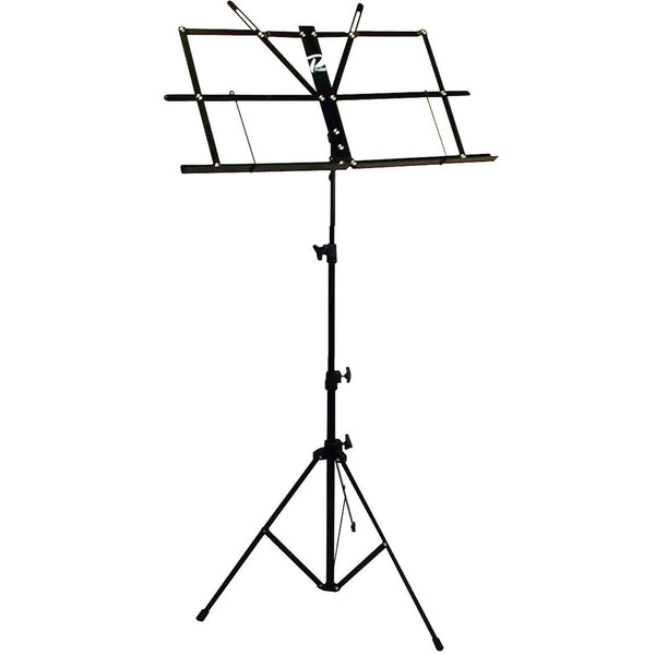 Profile MS033BP Wire Sheet Music Stand Black Finish