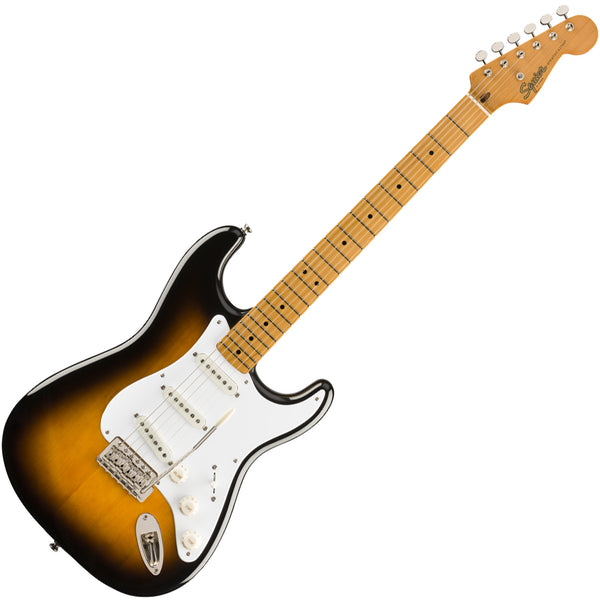 Squier Classic Vibe '50s Stratocaster Electric Guitar Maple in 2-Color Sunburst - 0374005500