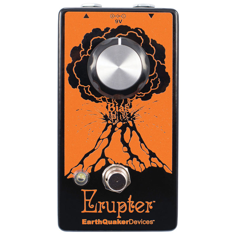 Earthquaker ERUPTER Erupter Ultimate Fuzz Tone Effects Pedal