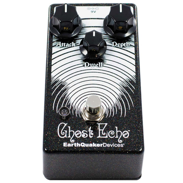 Earthquaker GHOSTECHO3 Spring Reverb Effects Pedal V3
