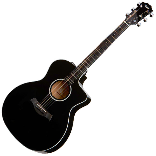 Taylor 214CEDLXBLK GA Acoustic Electric Sitka Spruce Top in Black