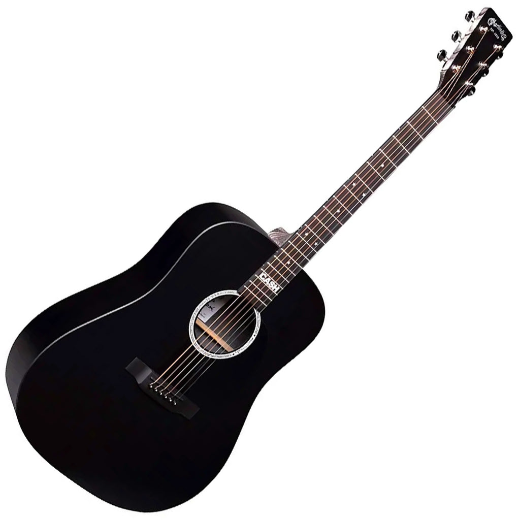 Martin DXJOHNNYCASH X Series Johnny Cash Dreadnought Acoustic with Bag