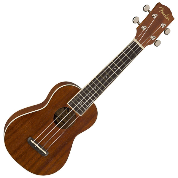 Fender 0971620522 Seaside Soprano Ukulele in Natural