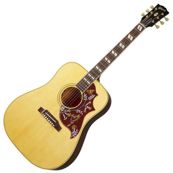 Gibson Hummingbird Original Acoustic Electric in Antique Natural with Case - ACOHBANGH