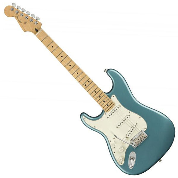 Fender 0144512513 Left Handed Player Stratocaster Electric Guitar Maple Neck in Tidepool
