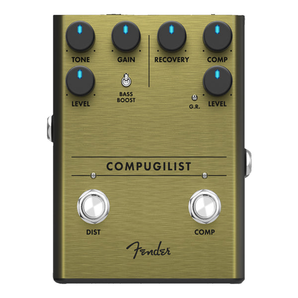 Fender 234551000 Compugilist Compressor and Distortion Effects Pedal
