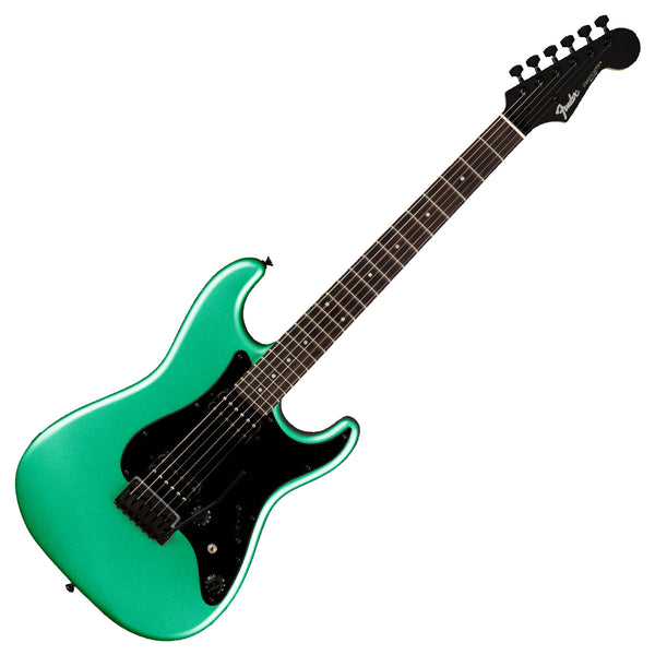 Fender Boxer Series MIJ Stratocaster HH Electric Guitar in Sherwood Green Metallic - 0251750346